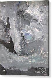 Untitled 124 Original Painting Acrylic Print