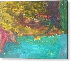 Untitled 126 Original Painting Acrylic Print