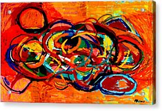 Untitled 2 Acrylic Print by Paul Freidin