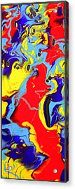 Untitled 6 Acrylic Print by Jane Biven