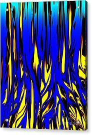 Untitled 7-21-09 Acrylic Print by David Lane