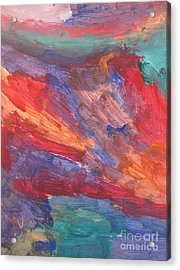 Untitled 95 Original Painting Acrylic Print