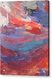 Untitled 96 Original Painting Acrylic Print