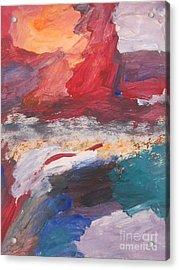 Untitled 98 Original Painting Acrylic Print