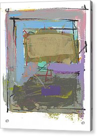 Acrylic Print featuring the painting Untitled  by Chris N Rohrbach