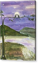 Acrylic Print featuring the painting Untitled by Geeta Biswas