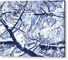 Untitled January 1964 Acrylic Print by Alexander Weygers