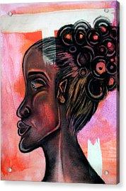 Untitled Lady II Acrylic Print