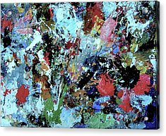 Acrylic Print featuring the painting Untitled by Melinda Saminski
