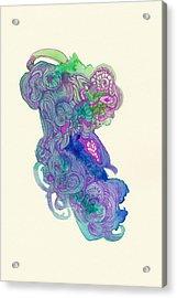 Untitled - #ss14dw037 Acrylic Print by Satomi Sugimoto