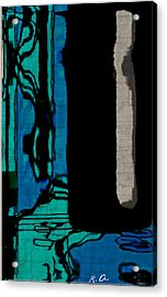 Untitled Stand Still Of Life Acrylic Print by Rene Avalos
