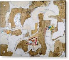 Untraveled 3 Acrylic Print by Susan Washington