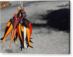 Acrylic Print featuring the photograph Unusual Catch by Richard Patmore
