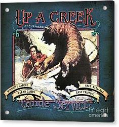 Up A Creek 1 Acrylic Print
