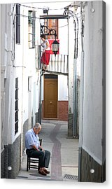 Up And Under Acrylic Print by Jez C Self