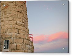 Close-up Detail Of The Cape Moreton Lighthouse Acrylic Print