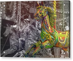 Up Down And Around London Acrylic Print by JAMART Photography