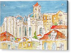 Up From Rossio Square Acrylic Print