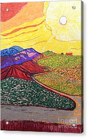 Up In The Sepulveda  Acrylic Print