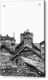 Up On The Roof Acrylic Print