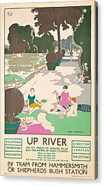 Up River Acrylic Print