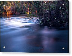 Up Stream Acrylic Print by Marvin Spates