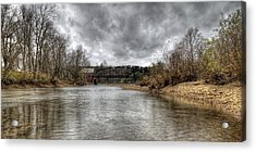 Up The Creek Acrylic Print