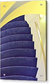 Acrylic Print featuring the photograph Up The Down Staircase by Jon Exley