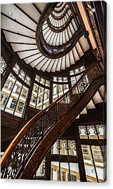 Up The Iconic Rookery Building Staircase Acrylic Print