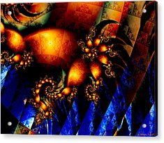 Up The Volume Acrylic Print by Lauren Goia