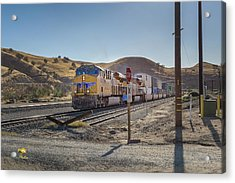 Acrylic Print featuring the photograph Up7472 by Jim Thompson