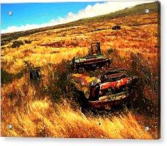 Upcountry Wreck Acrylic Print