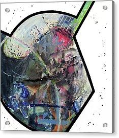 Upgrade Your Imagination  Acrylic Print by Antonio Ortiz