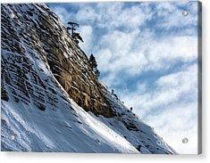 Uphill All The Way Acrylic Print