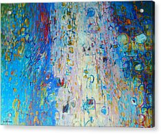 Uplifted Acrylic Print by Dale  Witherow