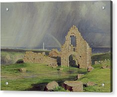 Upper Boddam Castle Acrylic Print