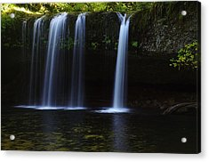 Upper Butte Creek Falls - Front Acrylic Print