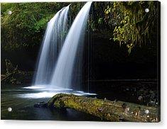 Upper Butte Creek Falls Acrylic Print