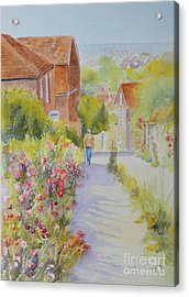 Upper Church Hill 2015 Hythe Acrylic Print