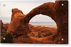 Upper Double O Acrylic Print by Chad Dutson