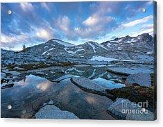 Upper Enchantments Calm Cloudscape Acrylic Print