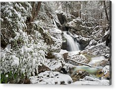 Upper Kent Falls 2016 Acrylic Print by Bill Wakeley