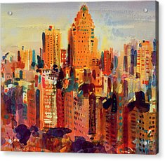 Upper Manhattan Acrylic Print