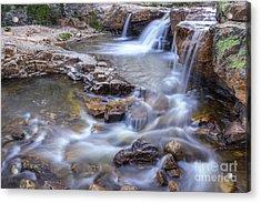 Upper Provo River Cascades Acrylic Print