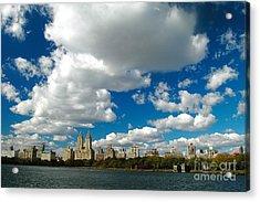 Upper West Side Cityscape Acrylic Print by Allan Einhorn