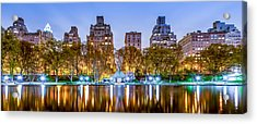 Upper East Side Reflections Acrylic Print by Az Jackson
