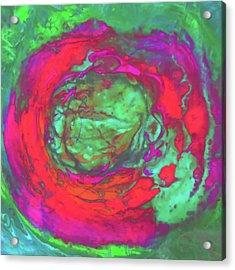 Uprising 5 Acrylic Print by Jane Biven