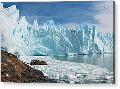 Upsala Glacier Acrylic Print by Michael Leggero