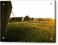Upstate Ny Farm Acrylic Print by Henri Irizarri