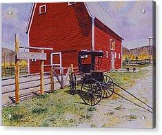 Ouray Ranch Acrylic Print